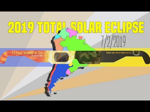 Solar Eclipse Glasses for 2019 South American Eclipse