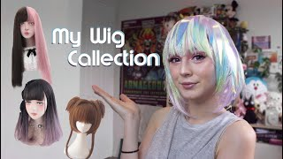 ✨ My Wig Collection Haul   Cosplay And J-Fashion Wigs ✨