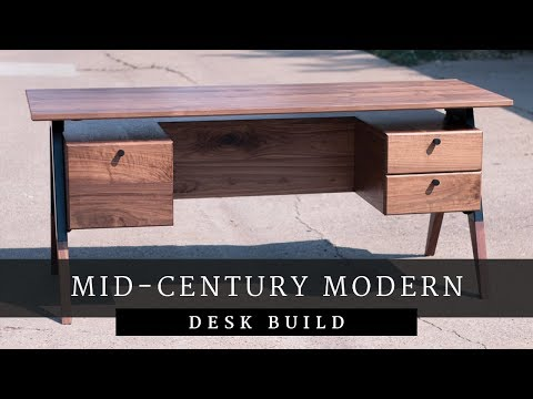 Mid-Century Modern Desk Build