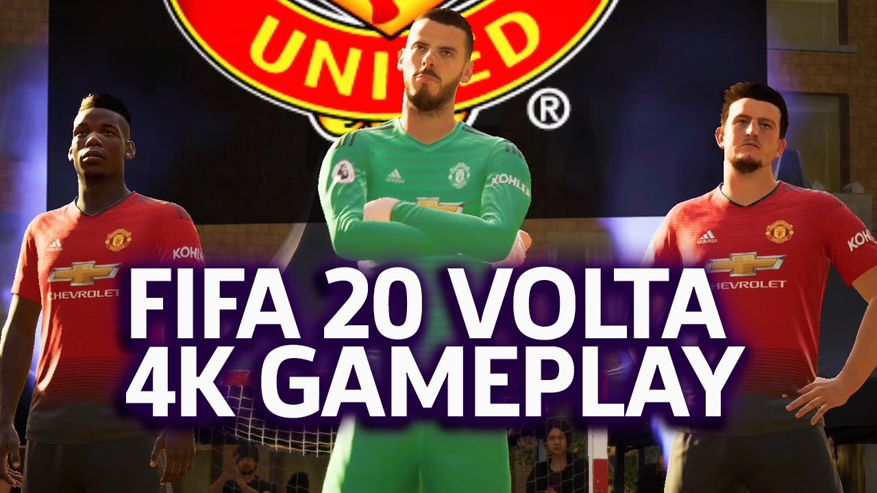 FIFA 20 , Volta Mode Manchester United Vs Tottenham Hotspurs 4K Gameplay