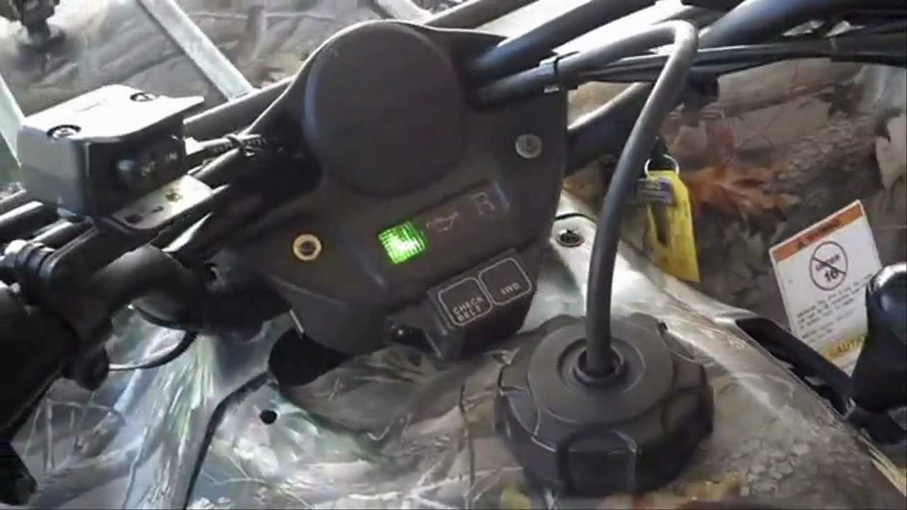 Winch Mount For Kawasaki Prairie