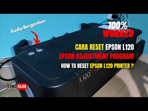 CARA BONGKAR PRINTER EPSON L120.