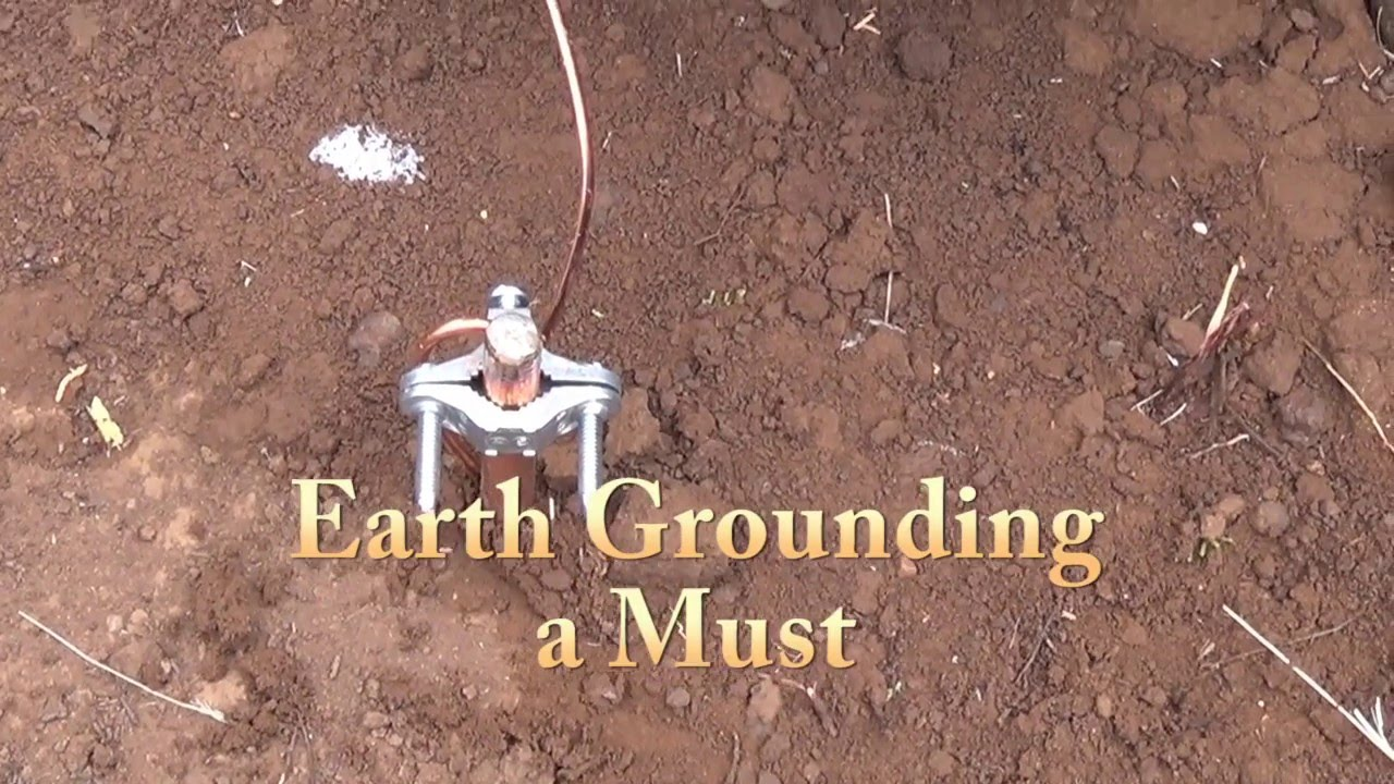 Earth Grounding Solar Off Grid System Grounding