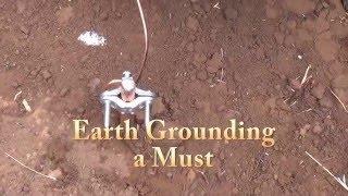 Earth Grounding Solar Off Grid System - Grounding Batteries, Panels, Controller, Inverter