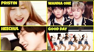 🎵Kpop idols singing and dancing to Seventeen's songs part 9 ♡