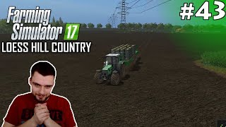 KALAFIOORY! #43 - Farming Simulator 17 Loess Hill Country /w Cookie| SWIATEK