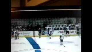 falling hockey refs