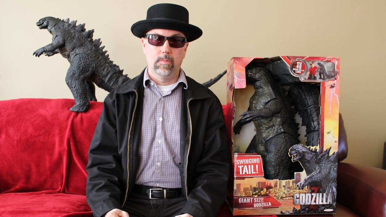 Giant Size Godzilla 2014 Toy Review - YouTube