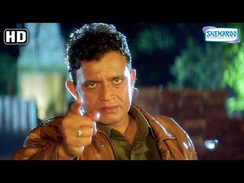 Mithun Chakraborty saves a Girl [HD] Mard [1998] Funny Action Scene - Bollywood Hindi Movie