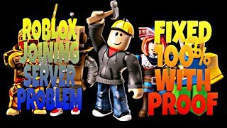 Roblox joining server problem fixed 100% with proof    by GAMING WITH USMAN