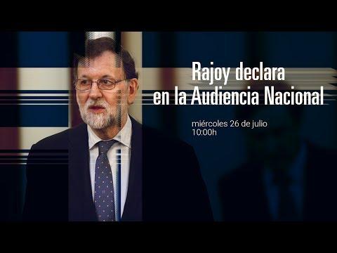 Rajoy declara en la Audiencia Nacional por la trama Gürtel