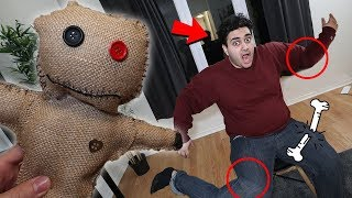 I PRANKED MY BESTFRIEND WITH A VOODOO DOLL AND HE GOT POSSESSED!! (GONE WRONG)