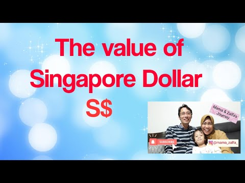 The value  of Singapore Dollar