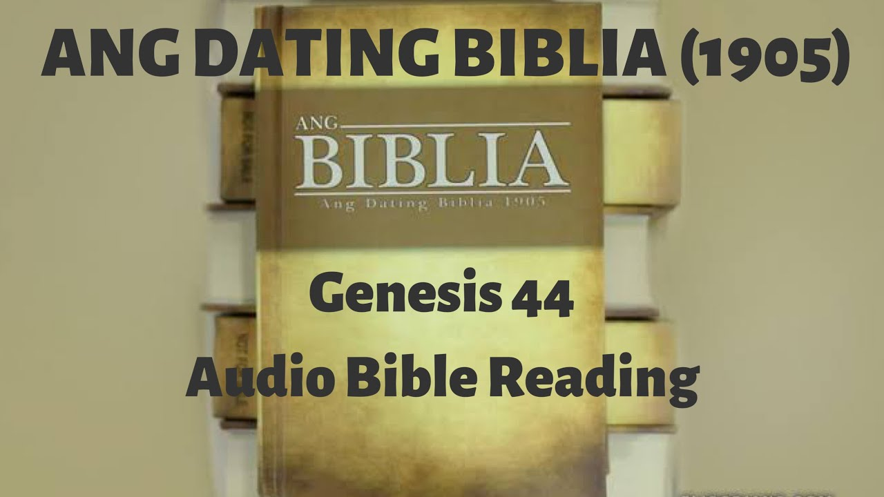 Ang dating biblia 1905 free download for android.