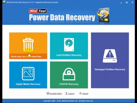 MiniTool Power Data Recovery 8.1 Crack with Serial Key ...