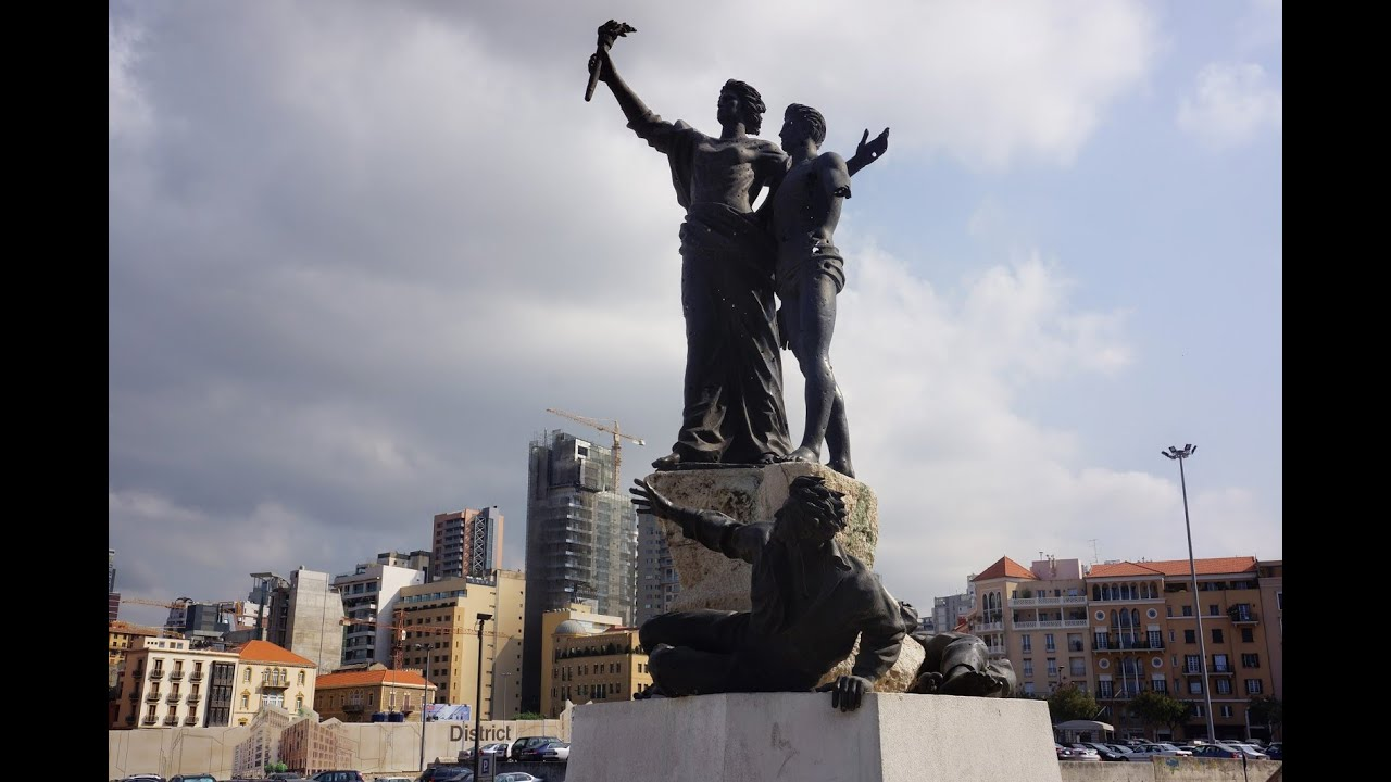 Beirut là thủ đô của Lebanon, ngọc trai ở biển Địa Trung Hải