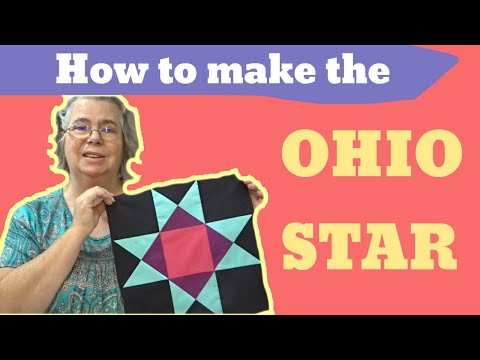 How To Make The Ohio Star Quilt Block - #ThursdayThreads