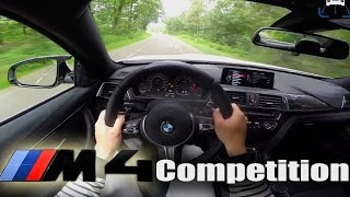 BMW M4 F82 COMPETITION PACKAGE - POV Test Drive LOUD! Acceleration & Sound