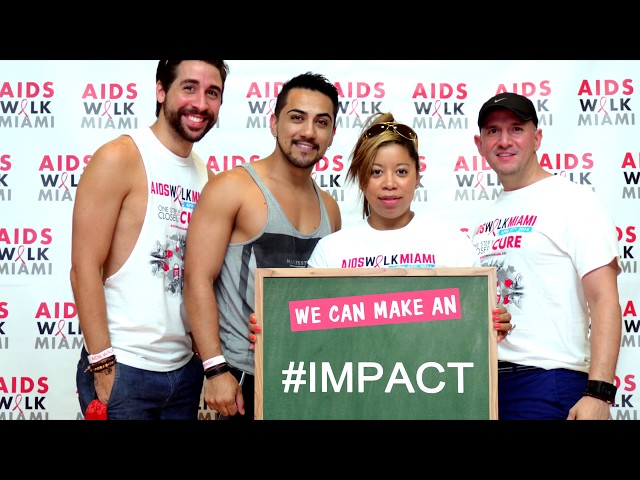 Join AIDS Walk Miami 2019 and make an IMPACT!
