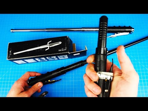 Automatic Baton / Deployable Shield V3 (Potential Energy) - Precursor