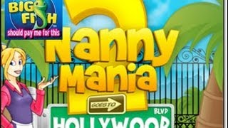 Nanny Mania 2 game play Levels 22-1 through 22-5