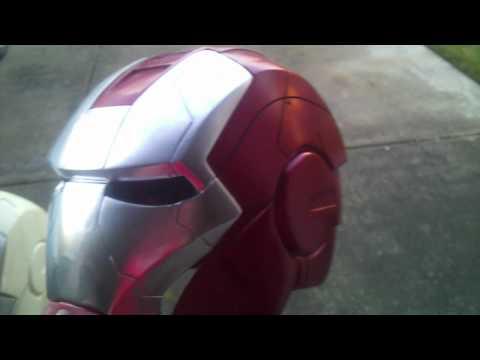Iron Man 2 mark 5 helmet final paint, new war machine