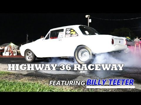 Osborn MO HWY 36 Raceway, Billy Teeter 8/25/2018 with Under-Car and In-Cab Shots