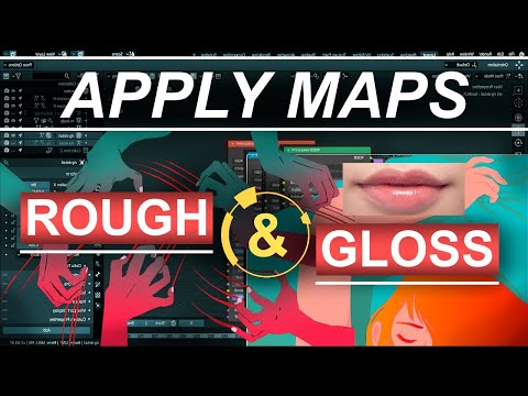 Blender 2.8 : Principled BSDF - Apply Roughness & Gloss Maps (In 30 Seconds!!!) thumbnail