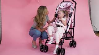 Catwalk Collection By Abbey Clancy, and the Black Cats MB02 Stroller