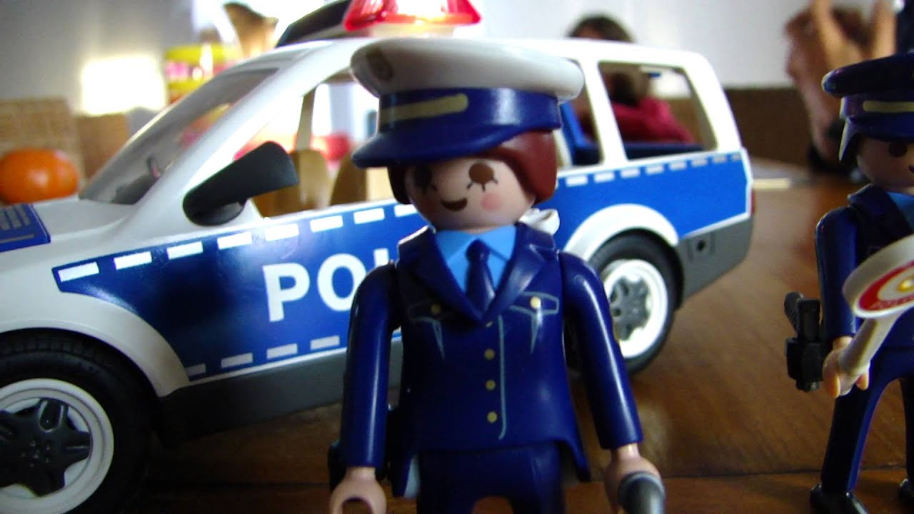 playmobil police demo youtube