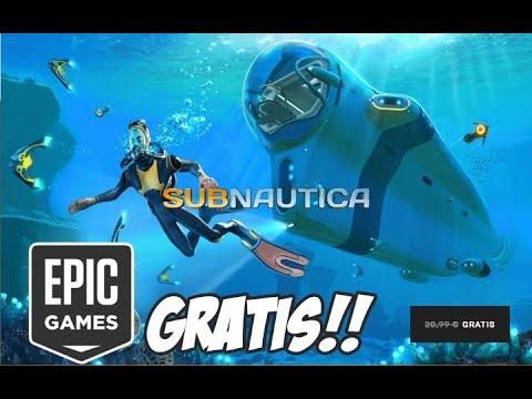 Juego Gratis Subnautica Gracias A Epic Games Youtube