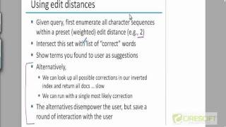 WDM 37: Spelling Correction Using Weighted Edit Distance