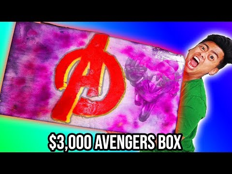 UNBOXING a $3000 AVENGERS Mystery Box (Far From Home)