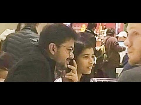 TRENDING VIDEO: Thalapathy Vijay Eating With his Daughter in Canada
