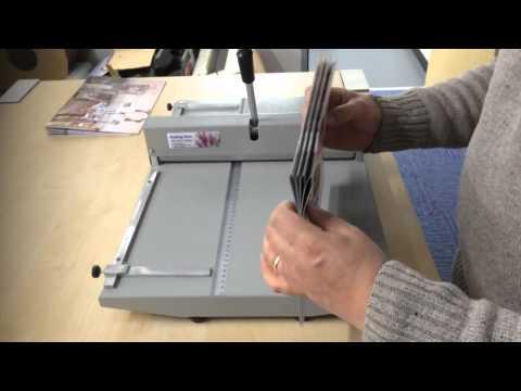 BS-35 Manual Paper Creaser, Creasing Machine