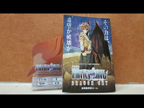 Review : Fairy Tail Dragon Cry Storyboard Bonus Book