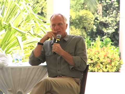 Mike Ryana Interviews Greg Norman during the Cayman Alternative Investment Summit Novemeber 2012