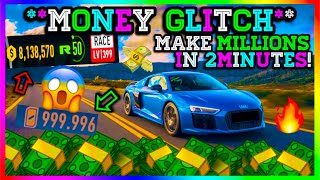 *NEW SOLO MONEY GLITCH* MAKE MILLIONS! Need For Speed Payback Money Glitch / Money Exploit!