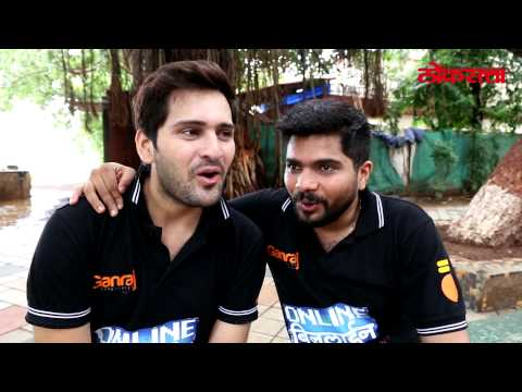 Siddharth Chandekar and Hemant Dhome singing Oh ho kay zal song