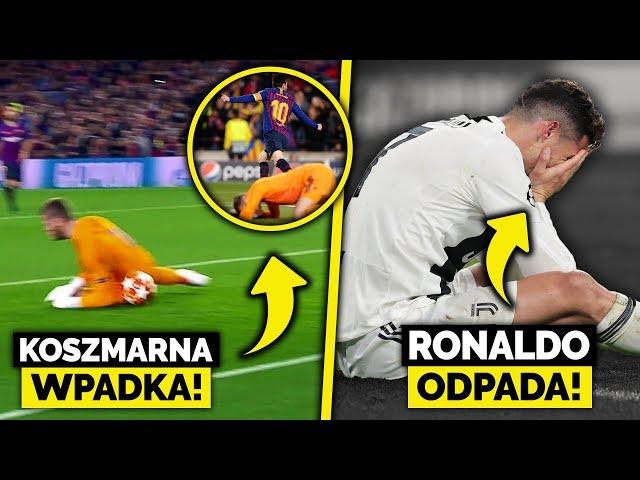 Wielka WPADKA De Gei... Ronaldo nie wygra LIGI MISTRZÓW! Ajax awansuje!