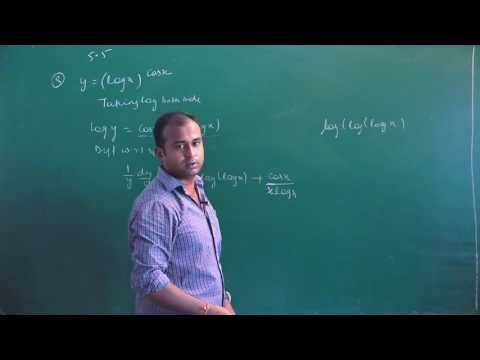 NCERT 12 Maths Ex 5.5 Ch 5 Cont. & Differentiability  hints & solutions