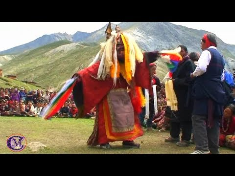 EXPLORING UPPER DOLPO, NEPAL (PART-II) TYPICAL LAMA DANCE IN THEIR CULTURAL WAY