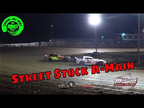 Street Stock A-Main Malvern Bank Cash Money SuperDirt - Lebanon Midway Speedway 10-19-2019