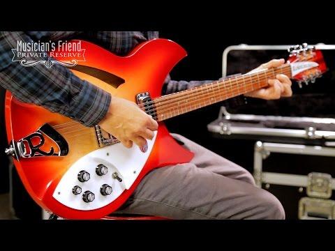Rickenbacker 330/12 Electric Guitar, Fireglo