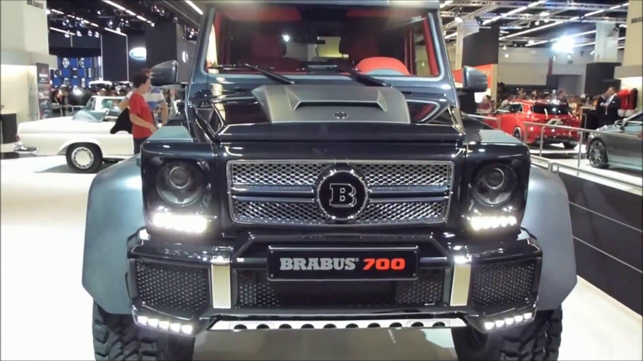 Brabus b63s 700 6x6 mercedes g63 amg 6x6 6 3 v8 biturbo for Mercedes benz amg 6 3 liter v8 price