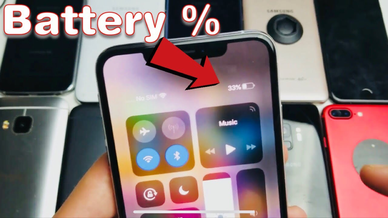 show battery percentage iphone iphone x xs how to show battery percentage 7783