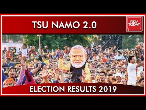 Tsu Namo 2.0 With Much Bigger Mandate According To India Today's Exit Polls | Results 2019