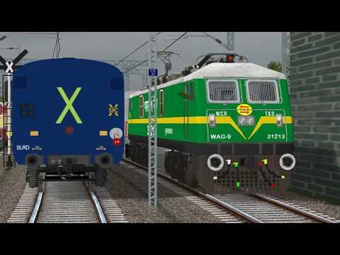 12841 Coromandel Express Departing Vijayawada || SRGT ROUTE || INDIAN TRAIN SIMULATOR