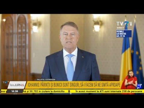 Download Declaraţii Klaus Iohannis - 17 aprilie