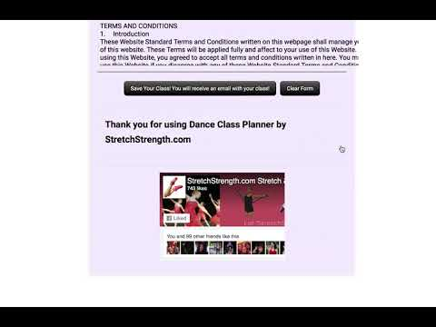 Online Dance Class Planner Double Time!  - Ballet  training video - StretchStrength.com